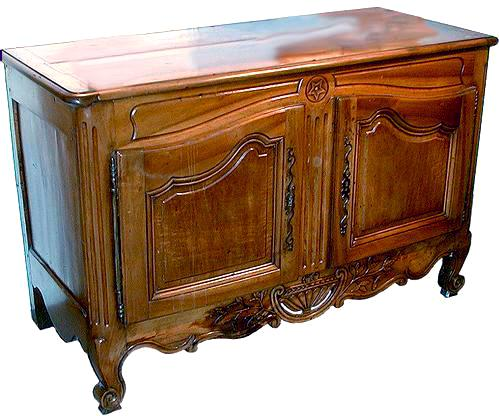 An 18th Century French Provincial Louis XV Buffet Bas No. 849