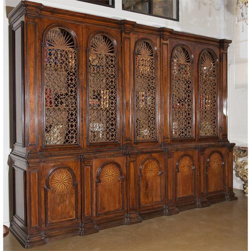 A Rare 18th Century Tuscan Walnut Archival No. 2706