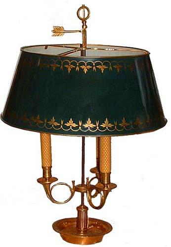 A 19th Century Bouillotte Lamp