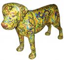 A Whimsical Cloisonné Dog