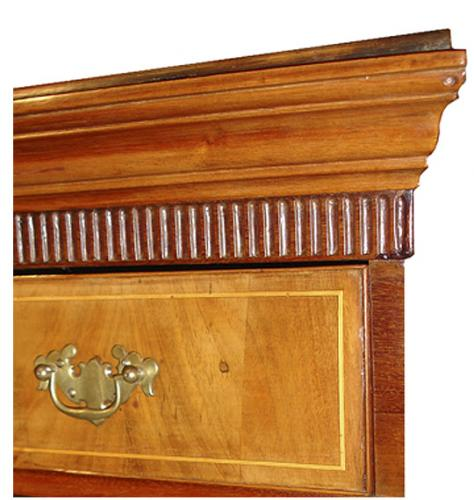 A 19th Century English Walnut Highboy No. 3200