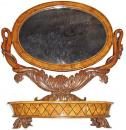 A 19th Century Charles X Cheval Mirror