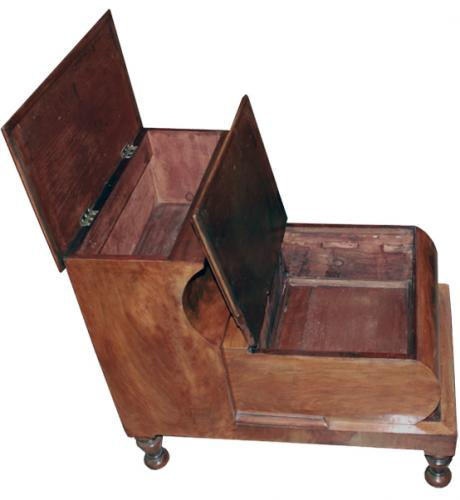 A 19th Century English Step Stool No. 3593