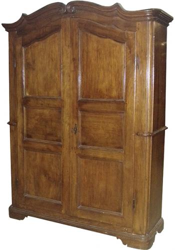 An 18th Century Italian Walnut Armoire No. 3672