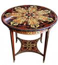A 19th Century Sicilian Polychrome Gueridon Side Table