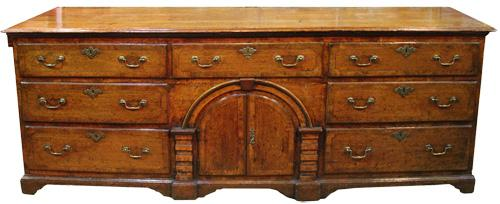 An Unusual Early 18th Century English Oak Sideboard No. 3215