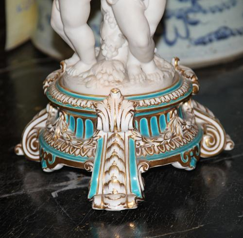 A 19th Century Italian Porcelain Centerpiece No. 4502