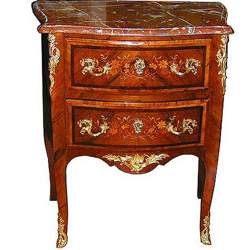 An 18th Century French Marquetry Commode No. 2064