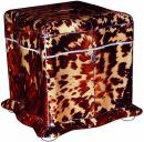 A Rare English Serpentine Tortoise Shell Tea Caddy