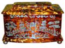 A 19th Century English Regency Tortoiseshell Tea Caddy