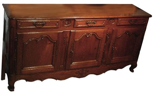 An 18th Century French Louis XV Provincial Oak Enfilade No. 1024
