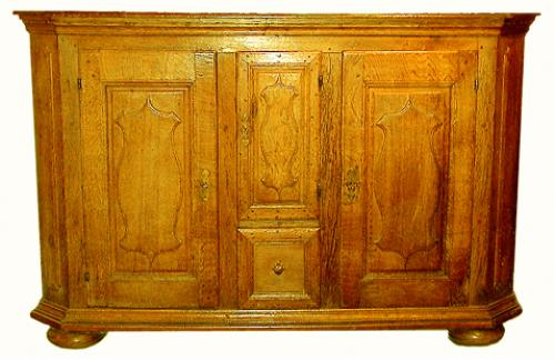 An 18th Century French Louis XIII Ash Enfilade No. 148