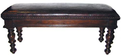 A 17th Century Walnut Bench
