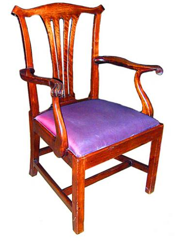 A Fine 19th Century English Arm Chair