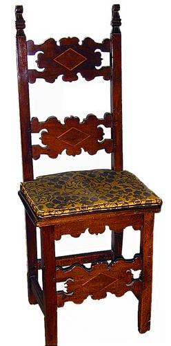 An 18th Century Set of Fourteen Italian Walnut Baroque Side Chairs